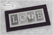 3D Abdruck Fußabdruck Gipsabdruck Love Gipsfabrik