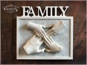 3D Abdruck Familie Gipsfabrik1