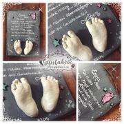 3D Abdruck Fußabdruck Gipsabdruck Enna Gipsfabrik