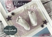 3D Abdruck Fußabdruck Leona Gipsfabrik