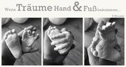 Gipsfabrik Fulda Hessen - 3D Abdrücke Händchen und Füßchen