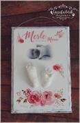 3D Abdruck Fußabdruck Handabdruck Gipsabdruck Baby Gipsfabrik Merle Marie
