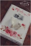 3D Abdruck Fußabdruck Handabdruck Gipsabdruck Baby Merle Marie Gipsfabrik